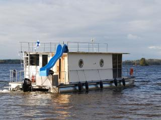 Houseboat Finland: Houseboat Comfort 32 m2/ 6 pers - Jyväskylä vacation rentals