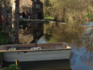 Fairytale stone waterfront mill cottage - Montmorillon vacation rentals