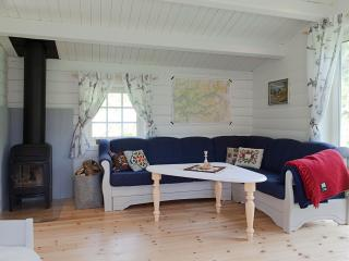 Cozy Cabin with Deck and Dishwasher - Naustdal vacation rentals