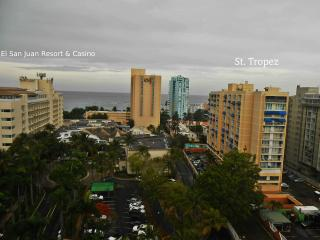 Studio St. Tropez in between Resorts and Casinos - Isla Verde vacation rentals