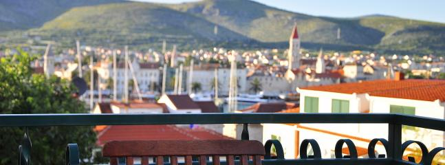 View from thebalcony - Charming apartment with a swimming pool - Trogir - rentals