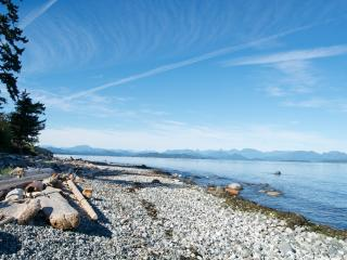 Quadra Island Farmhouse Captain's Cabin - Quathiaski Cove vacation rentals