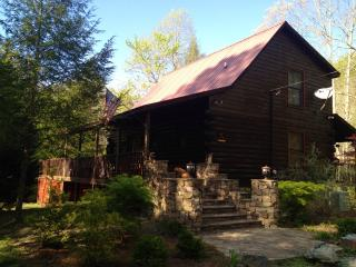 Riverbend Trout fishing Log Cabin - Epworth vacation rentals