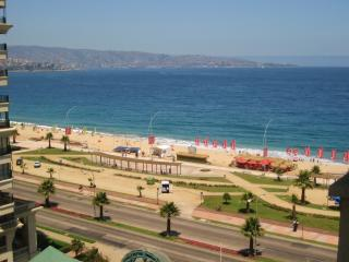 Spacious beachfront apartment - Best location in V - Vina del Mar vacation rentals