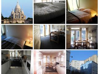 Nice Budget-Studio 36m2, trendy area of Montmarte - Paris vacation rentals