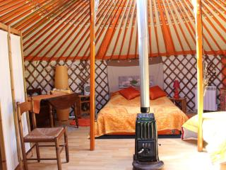 Romantic 1 bedroom Potelle Yurt with Internet Access - Potelle vacation rentals