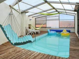 Splendid house in Auvergne w private pool, hammock swing & volcano view, 15min from Clermont-Ferrand - Veyre-Monton vacation rentals