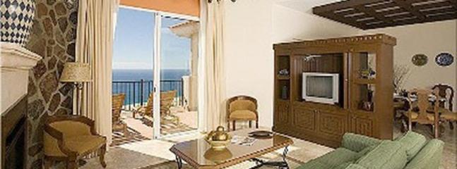 Living & Dining area with Pacific ocean view - Montecristo Estates, Cabo San Lucas - Cabo San Lucas - rentals
