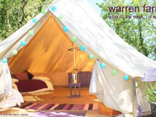 One of several 6m bell tents at Warren Farm - Merrion vacation rentals
