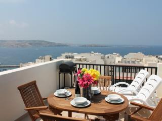Seashells one bedroom Penthouse in Bugibba - Bugibba vacation rentals