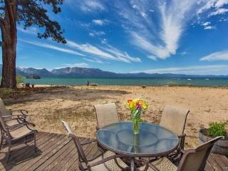3999B- Tahoe Beach Front- Sandy Beach Front Home - South Lake Tahoe vacation rentals