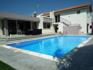 Near the beach luxury villa with private pool - Pervolia vacation rentals