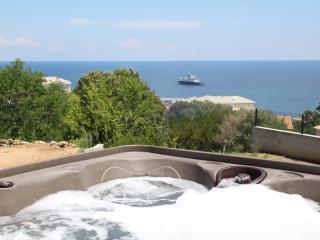 Villa neuve vue mer avec jaccuzi, calme assuré - Bastia vacation rentals