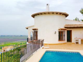 Luxury villa with private swimming pool, sea view - Alicante vacation rentals