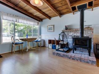 Dog-friendly cottage w/ close beach access, fireplace, and private hot tub! - Rockaway Beach vacation rentals