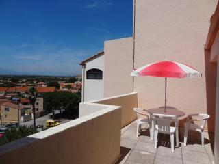 Studio confortable 25m² grande terrasse 20m² - Canet-Plage vacation rentals