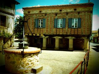 13th C house with columns in  medieval village - Montdragon vacation rentals