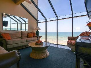 Oceanfront condo w/ breathtaking beach views & private beach access - dogs OK! - Saint Augustine vacation rentals