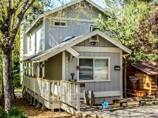 Rustic two-story mountain w/private covered hot tub, wooded surroundings! - Big Bear Lake vacation rentals
