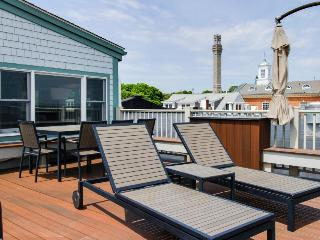 Oceanfront penthouse right on the beach & Commercial St - newly renovated! - Provincetown vacation rentals