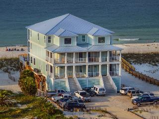 Castle in the Sand East! Gulf Frnt pvt heated pool - Orange Beach vacation rentals