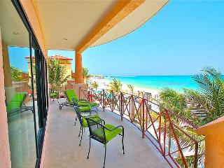 Oceanfront with pool 3 bedroom unobstructed views in Luna Encantada (LEC2) - Playa del Carmen vacation rentals