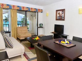 Oceanfront with pool 1 bedroom in Xaman Ha (7116) - Playa del Carmen vacation rentals