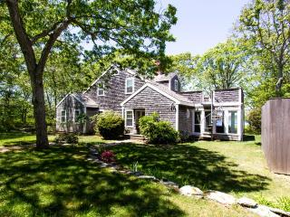 SANBG - Gorgeous Waterviews, set in private Mink Meadows Golf Course Community ,  Private Association Beach,   Walk or drive to the Golf Course Club House, - Vineyard Haven vacation rentals