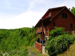 Spacious Cabin W/Mountain Views, Pool Table, Hot Tub, WiFi & Pets Welcomed!! - Fleetwood vacation rentals