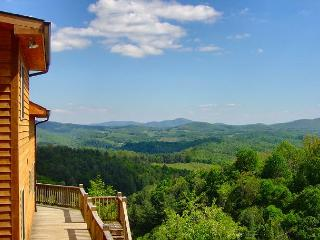 Long Range Views Forever! WIFI, Pool Table - Lower Summer Rates Available! - Grassy Creek vacation rentals