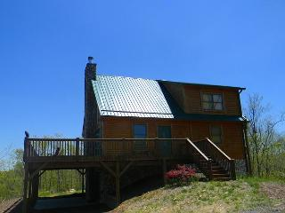 Spacious Cabin With Mountain & River Views, WiFi, & Gas Fireplace - West Jefferson vacation rentals