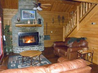 """""""QUIET SPLENDOR"""" Log Home with Hot Tub - LOW MAY RATES! - Lansing vacation rentals"""