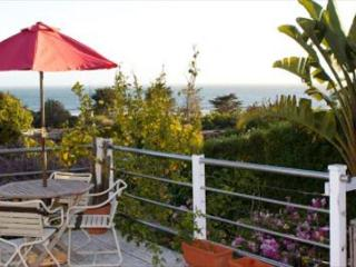 Sunset views from the deck of this bungalow on the Hill with Hot Tub! - Stinson Beach vacation rentals