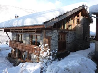 ECO CHALET STERWEN Hot tub and sauna free ski bus to funiculaire ARC 1600 at 6Km - Landry vacation rentals