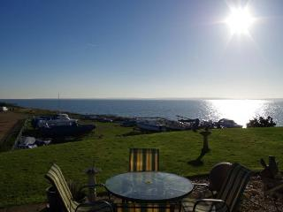 Panoramic sea views across The Solent, detached luxury bungalow in Hampshire - Warsash vacation rentals