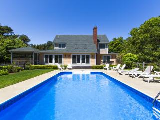 REINJ - Gorgeous Katama Home, Heated Pool,  Large Private Pool Patio and Landscaped  Yard,  Screened Porch and Expansive Deck, Located Just one mile to South Beach - Edgartown vacation rentals