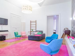 Big design apartment in center city - Ljubljana vacation rentals