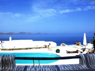 Mykonos Ornos Luxury VILLA Pool Sea view Slp 7 - Ornos vacation rentals