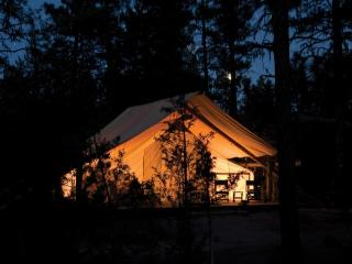 Nice Tented camp with Deck and Internet Access - North River vacation rentals
