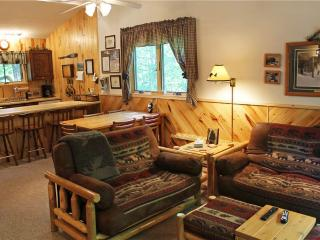 Located at Base of Powderhorn Mtn in the Western Upper Peninsula, A Cheery Condo-Style Home Nestled in the Woods - Ironwood vacation rentals