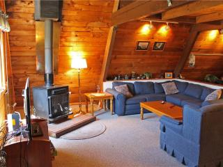 Located at Base of Powderhorn Mtn in the Western Upper Peninsula, An Intimate A-Frame Home with Free-Standing Fireplace - Ironwood vacation rentals