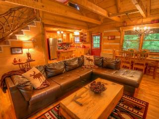 2BR Cabin, Sleeps 8, Creek and Fishing Lake with Rainbow Trout, Central to - Seven Devils vacation rentals