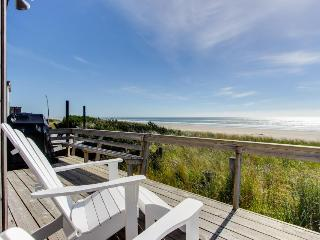Newly remodeled, oceanfront home w/ocean views, close to sand! - Rockaway Beach vacation rentals