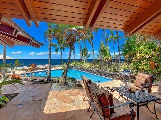 Ho`o Walea - Elegant 3 Bedroom Ocean Front Villa with a Pool - Poipu vacation rentals