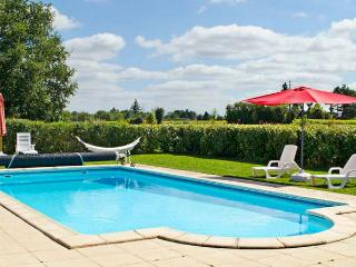 In Poitou-Charentes, enchanting holiday house with terrace and shared pool - Brux vacation rentals