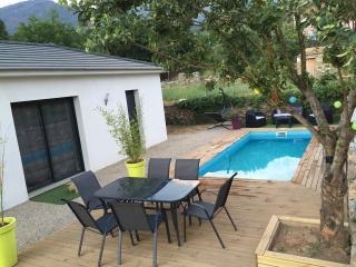 Villa T3 de charme avec piscine privée et chauffée - Patrimonio vacation rentals