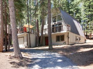 Open, bright A-frame home with a fun-filled game room & great location - Tahoe City vacation rentals