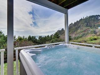 Modern oceanfront home w/private hot tub and space for the whole family! - Newport vacation rentals