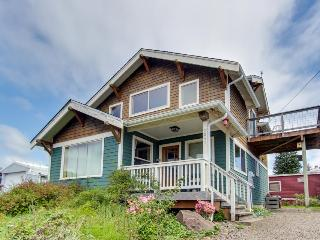 Lovely home w/ ocean views, private hot tub & entertainment - dogs welcome! - Netarts vacation rentals