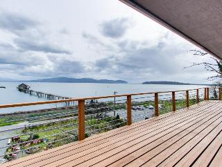 Retro, funky decor with a great ocean bay view! - Garibaldi vacation rentals